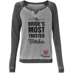 Bride's Trusted Girls