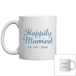 Custom Names Happily Married