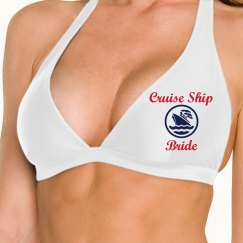 Cruise Ship Bride Bathing Suit