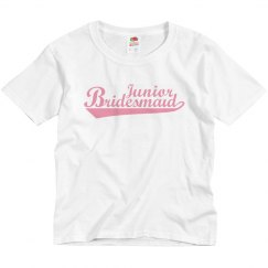 Junior Bridemaid Youth tees
