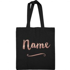 Custom Metallic Name Bridesmaid