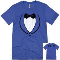 Best man Tuxedo Men's T-shirt
