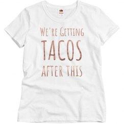 Getting Tacos Metallic