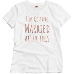 Getting Married Metallic
