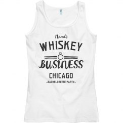 Whiskey Business Chicago Bachelorette Party
