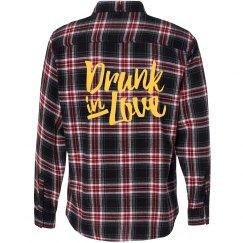 Drunk in Love Flannel Shirt