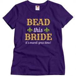 Bead This Mardi Gras Bride