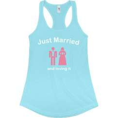 Just Married & Loving It