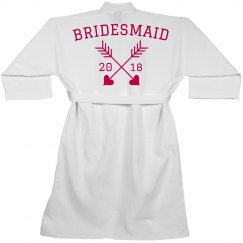 Bridesmaid Bridal Custom Robe