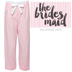 Bridesmaid Pajama Pants