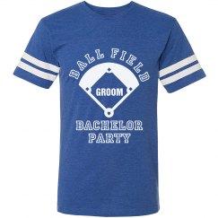 Ball Field Baseball Bachelor