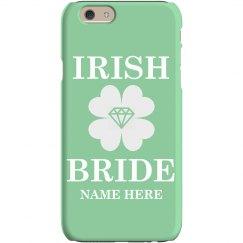 Irish Bride Phone Case