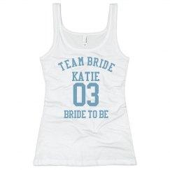 Team Bride Nickname Tank