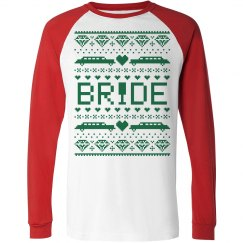 Relaxed Raglan Xmas Bride