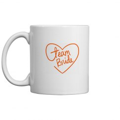 Team Bride Coffee Mug