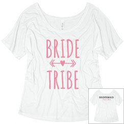 Bride Tribe - Custom Bridesmaid Back