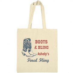 Final Fling Bling Tote