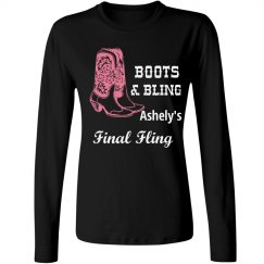 Final Fling Bling Tshirt