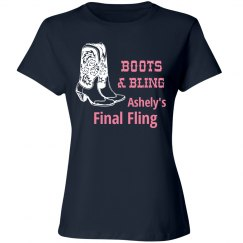Final Fling Bling Tees
