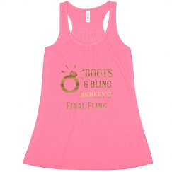 Final Fling Bling Tank Top