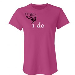 I Do Angel Tee