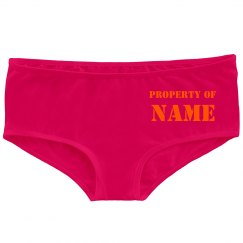 Property of Name Here