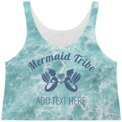 Mermaid Tribe Ocean Print