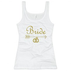 Bride Arrow Diamond Ring Tank Top