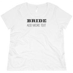 Custom Plus Bride Design