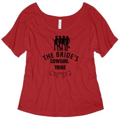 Bride's Cowgirl Tribe