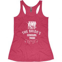 Bride's Cowgirl Tribe