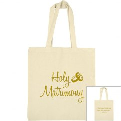 Christian Holy Matrimony Mark 10:19 Gold Text