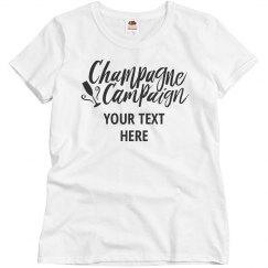 Bachelorette Champagne Campaign