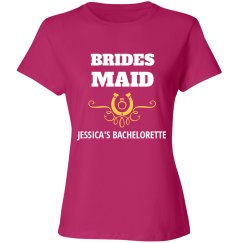 Bridesmaid Country Western