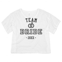 Team Bride Crop