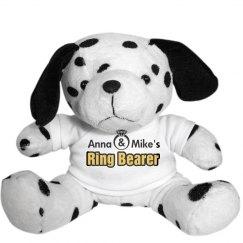 Ring Bearer Dalmatian