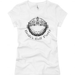Brides Golf Party