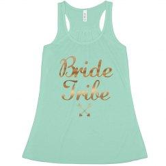 Bride Tribe Tank Top, bachelorette or bridal parties