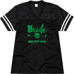 Metallic Bride Shamrock Jersey