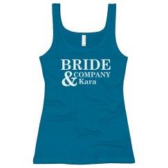 Bride And Company Tank
