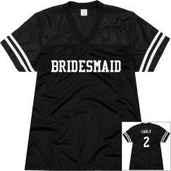 Bridesmaid Football Jersey