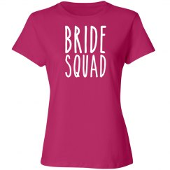 Bride Squad shirt