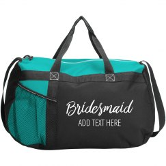 Custom Bridesmaid Script Name