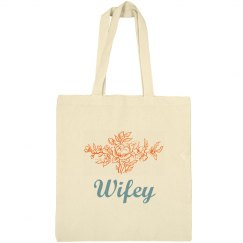Tote bag for wifey
