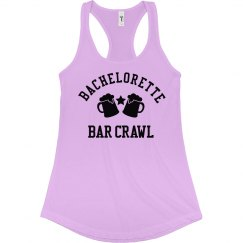 Bachelorette Bar Crawl Tank Top