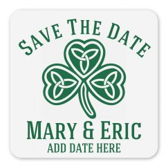 Save The Date Irish Wedding