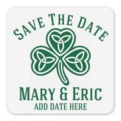 Save The Date Irish Wedding