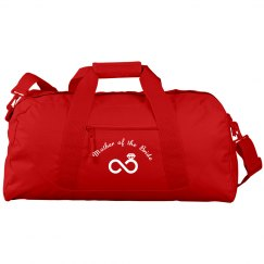 Duffel bag for mother of the bride