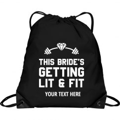 Custom Bride's Workout Gear
