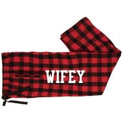 Wifey Holiday PJ's